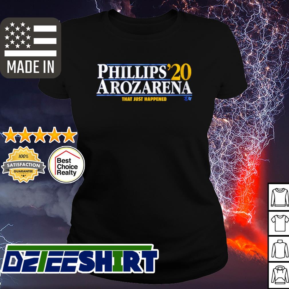 Phillips Arozarena 2020 that just happened s ladies-tee