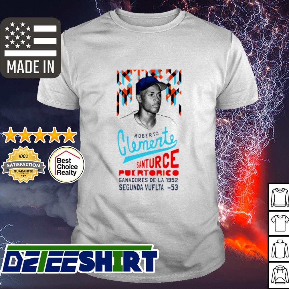 Roberto Clemente Santurce Puertorico shirt
