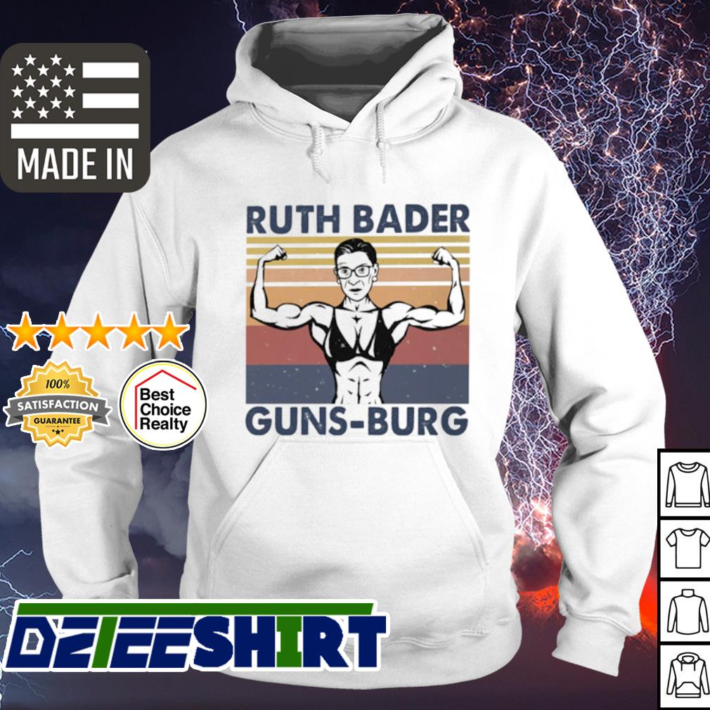 Strong Ruth Bader Ginsburg Guns Burg vintage s hoodie