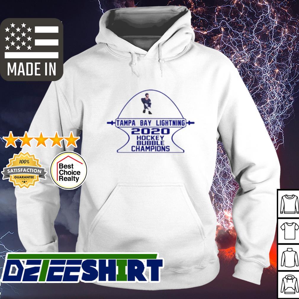 Tampa Bay Lightning 2020 hockey bubble Champions s hoodie