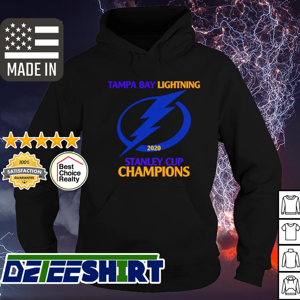 Tampa Bay Lightning stanley cup champions 2020 s hoodie