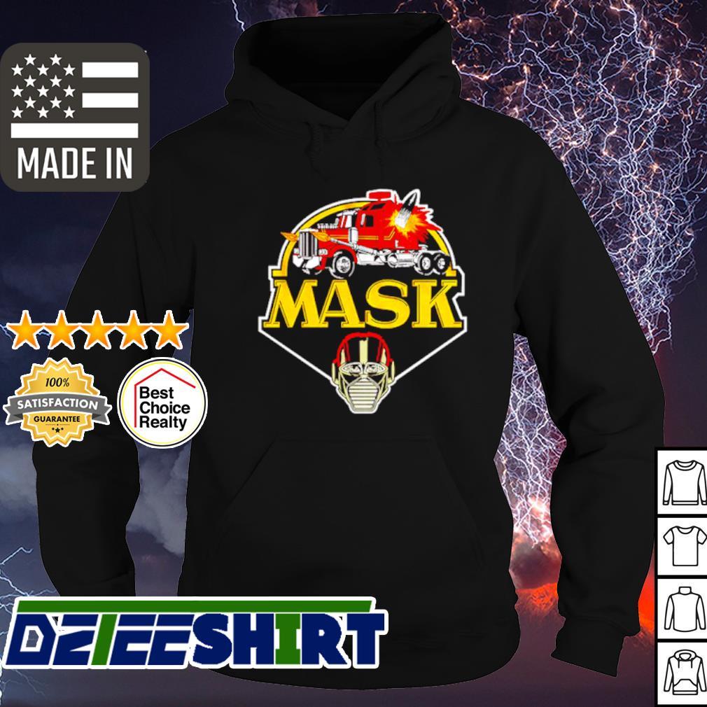 Truck mask s hoodie