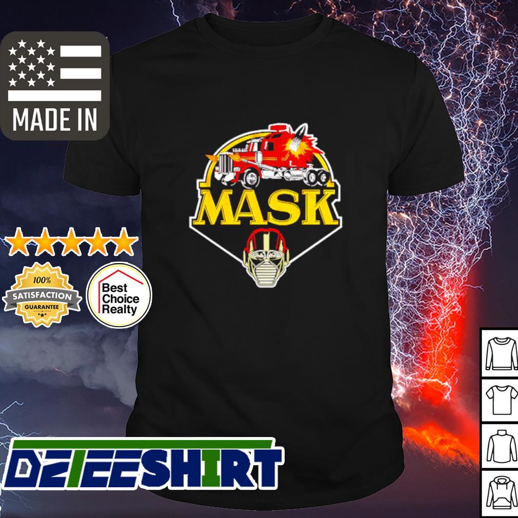 Truck mask shirt