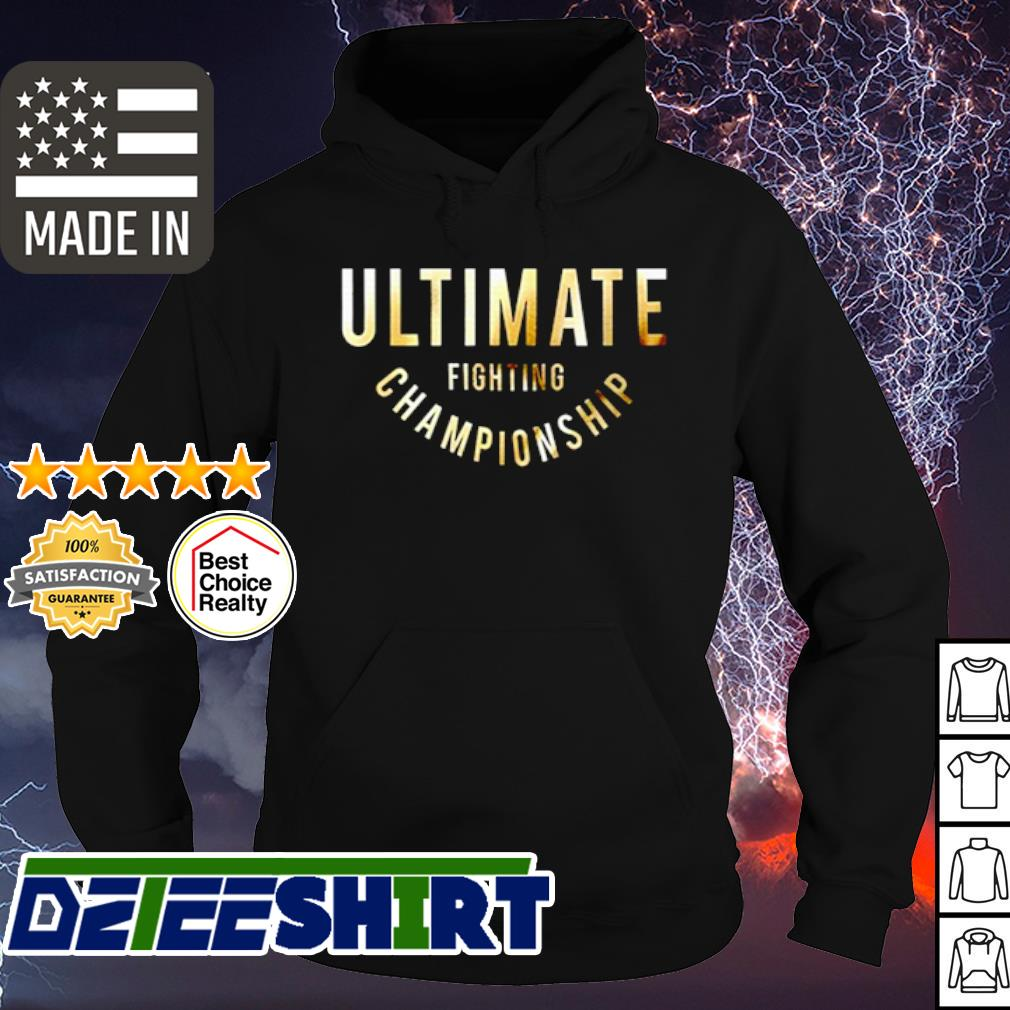 Ultimate fighting championship s hoodie