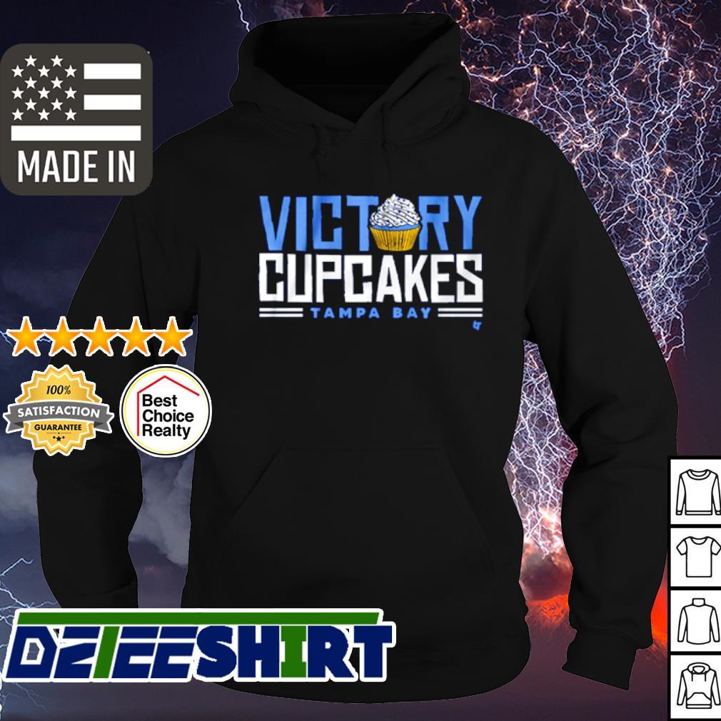 Victory cupcakes Tampa Bay s hoodie