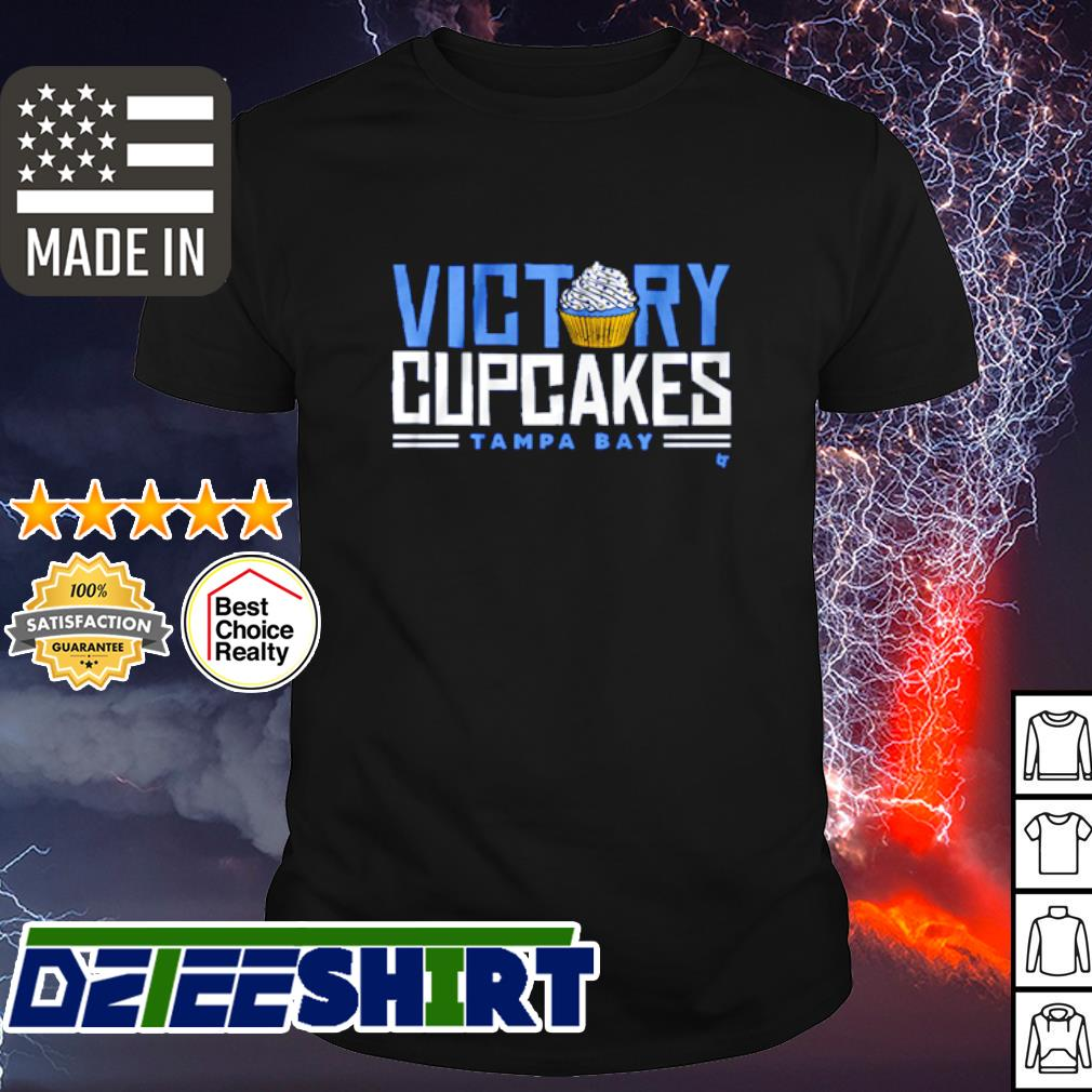 Victory cupcakes Tampa Bay shirt