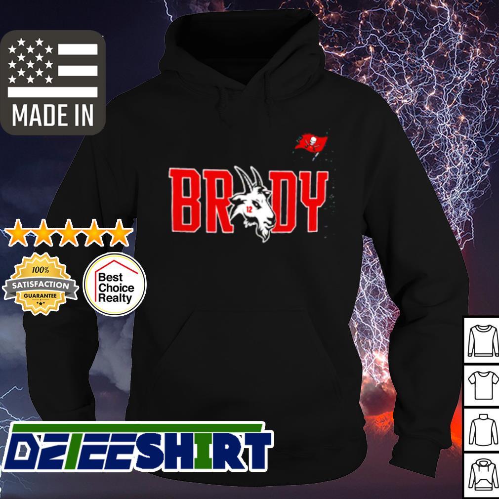 Tampa Bay Buccaneers GOAT Tom Brady shirt, hoodie, sweater, long ...
